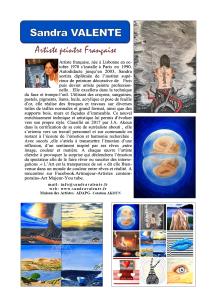 sandra VALENTE 2
