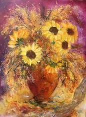 Bouquet aux soleils dansants 3790_40P 100x73-AC-17