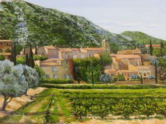 Maubec vieux village