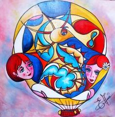 0263 La montgolfière de l'amitié