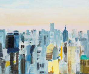 LAVENU_Manhattan 73x60cm 20F (Huile)