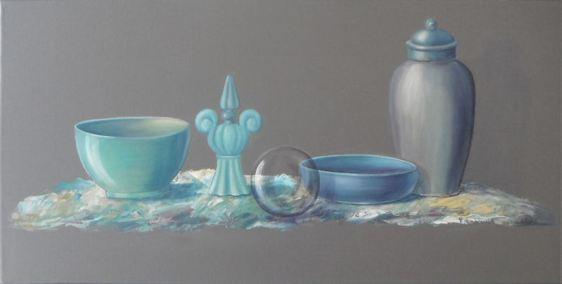 428 Nature morte La bulle 60 x 30 cm