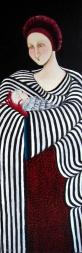 8. P.Maternité - 150cm x 50cm - 2008