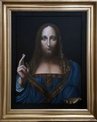 Salvatore Mundi Leonard de Vinci Reproduction Ursula DURR-LAND n