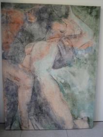 peintures nus sur toile 003