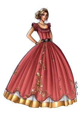 cass princess dress